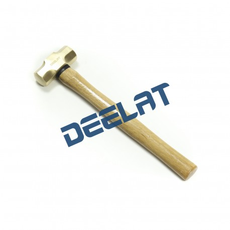 "Brass Striking Hammer - 1 lb - 10"" Wood Handle_D1148126_main"