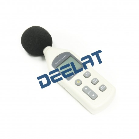 "Sound Level Meter – 30 – 130 dBA (35-130 dBC) – 2.8"" x 1.4"" x 10.1""_D1141130_main"