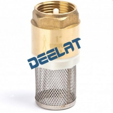 """Check Valve with Filter – Brass - 1 1/4""""_D1146132_main"""