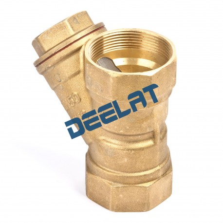"""Brass """"Y"""" Strainer Valve – 3/4""""_D1146124_main"""