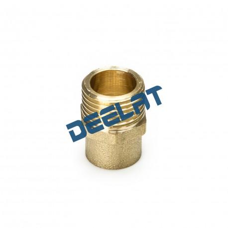 "Soldering Fitting – Male Nipple – Brass – 28 mm x 1""_D1145947_main"