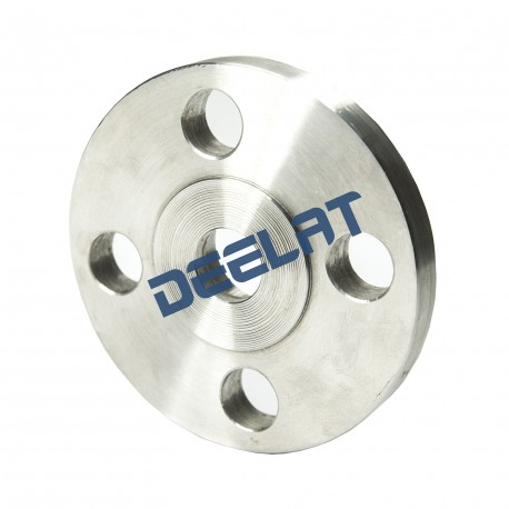 "Threaded Flange - Nominal Pipe Size 1-1/2"" - Class 150 - Raised Face - Stainless Steel - F304/304L_D1149766_main"
