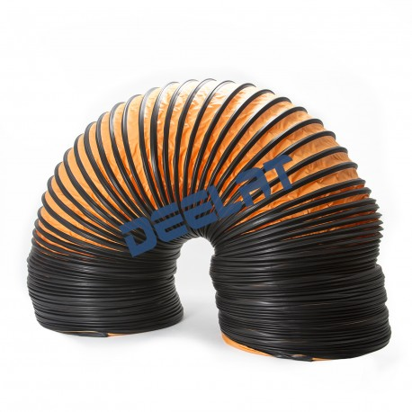 Heat and High Temperature Resistant Duct - 255 mm (Diameter) x 4.88 M (Length) - 100°C_D1143767_main