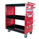 "Mobile Maintenance & Work Center Carts (Frame) - Luxury with Hooks - 32"" x 14"" x 31""_D1778493_1"