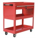 Mobile Maintenance & Work Center Carts (Frame) - With Drawer - 700 mm x 350 mm x 760 mm_D1778455_1