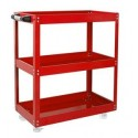 "Mobile Maintenance & Work Center Carts - With 1 Drawer, Thick, With Upright Tool Shelf - 25"" x 17"" x 45""_D1778633_1"