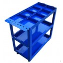 Mobile Maintenance & Work Center Carts (Frame) - With Cells - 710 mm x 350 mm x 750 mm_D1778478_1
