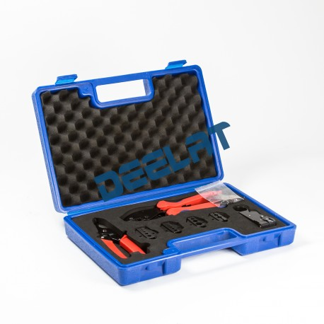 Wire Crimping Tool - Type 2 - (8.1/6.5/5.4/2.6/1.72mm2) & Electricians Tool Box (Plastic)_D1155608_main