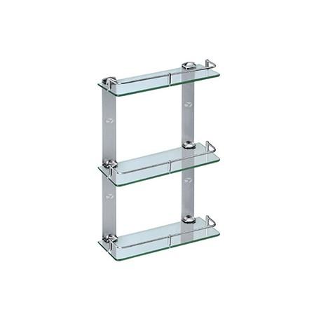 Triple Layer Glass Shelf - 30cm_D1157569_main