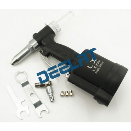 Pneumatic/Hydraulic Riveter Gun - 2.4 mm, 3.2 mm, 4 mm, 5 mm - 2 Jaw - Black_D1773577_main