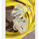 30m Lighted Ext. Cord/14awg 13a/125v Yellow - Pkg Qty 4_D1030163_1