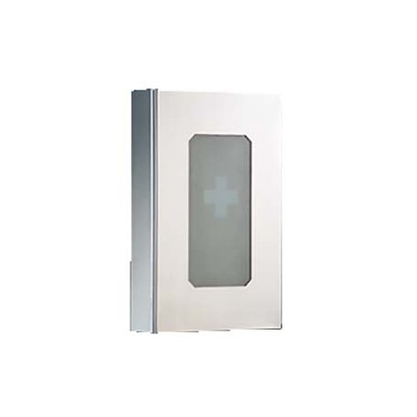 Medicine Cabinet with Pull Out Shelf 32cm x 12cm x 54cm_D1000038_main
