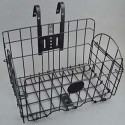 Twin Rear Bicycle Carrier Basket - Iron Wire_D1047843_1