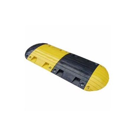 "Rubber Speed Bump - End Cap - 6.7"" x 15.7"" x 2""_D1146873_main"