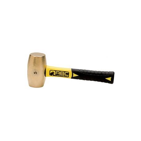 """Brass Club Hammer - 5 lb - 8"""" Fiberglass Handle_D1148136_main"""