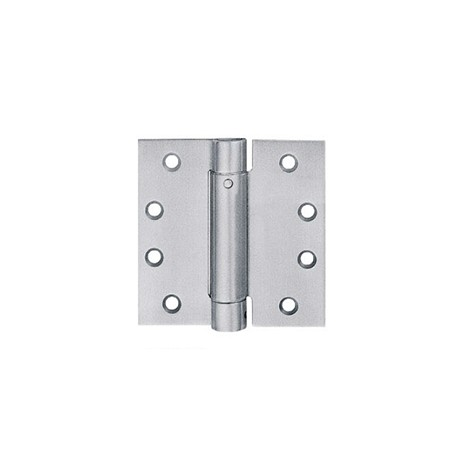 "Heavy Duty Hinge - 4"" Single Spring - Stainless Steel, Polished Finish - 100x100x3mm - 1 Pair_D1150344_main"